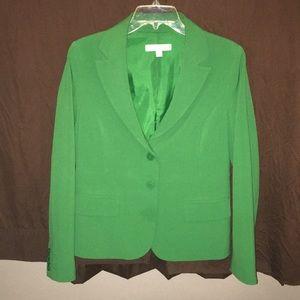 Green dress blazer